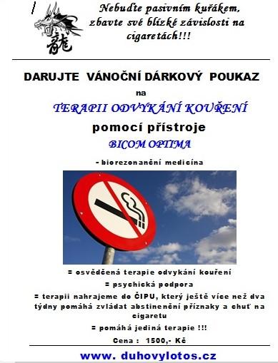 poukaz kouření